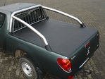 LADERAUMABDECKUNG  / TONNEAU COVER MITSUBISHI L200/3 SNAPY CLUB-CAB FÜR STYLING-BAR  COUPE