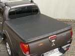LADERAUMABDECKUNG / TONNEAU COVER MITSUBISHI L200/4  DOUBLE-CAB ( LONG )