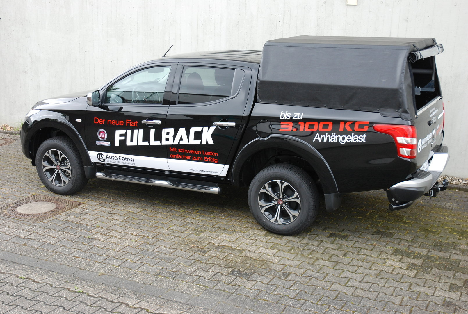 soft top maxi fiat fullback double cab verdeck. Black Bedroom Furniture Sets. Home Design Ideas